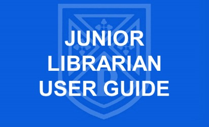 Junior Librarian User Guide button